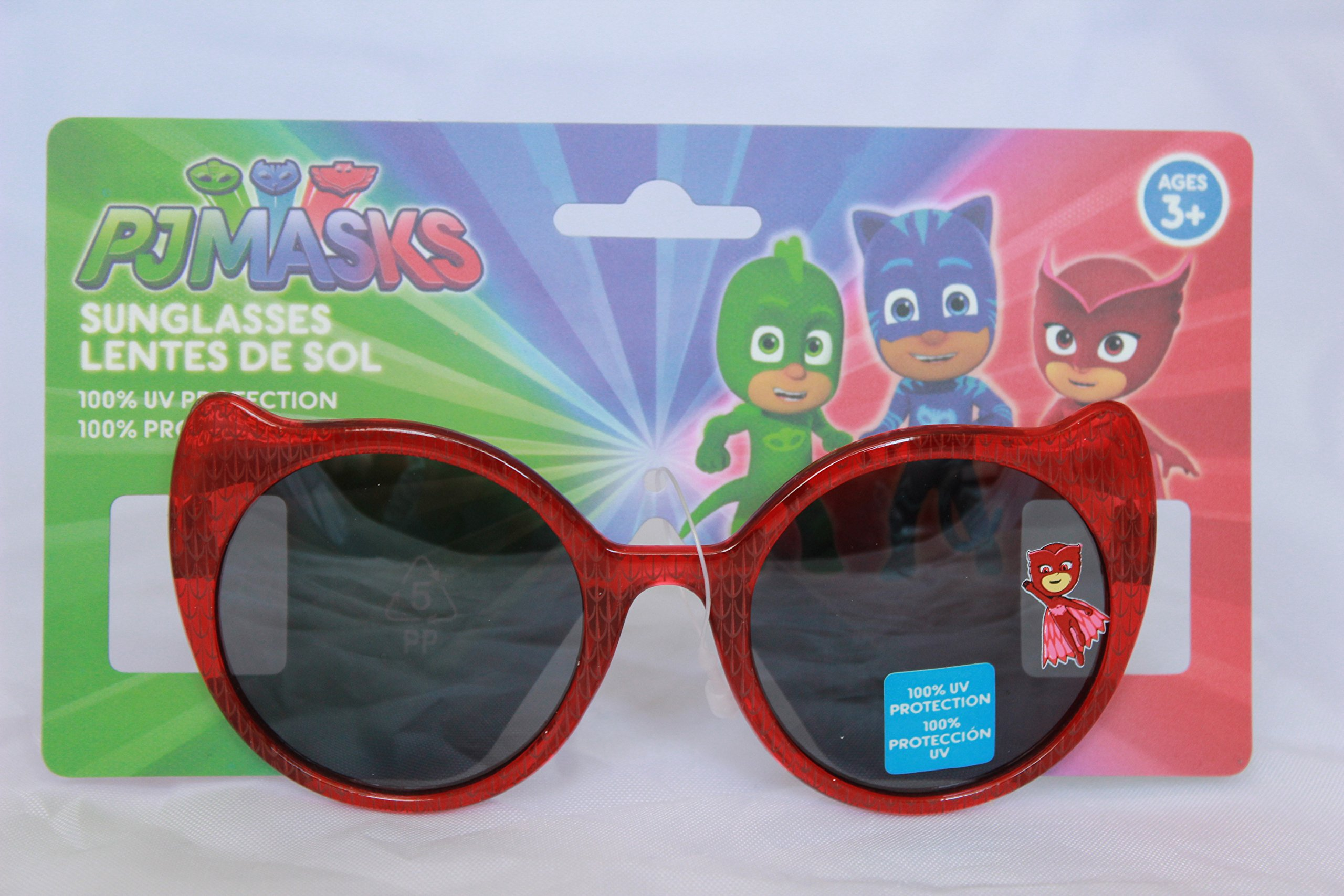 PJ Masks Owlette Amaya Cat Eye Girls Sunglasses 100% UV Protection Kids Children