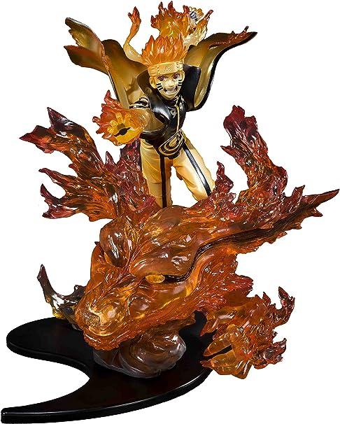 Tamashii Nations Bandai Figuartszero Naruto Uzumaki-Kurama Relation Statue