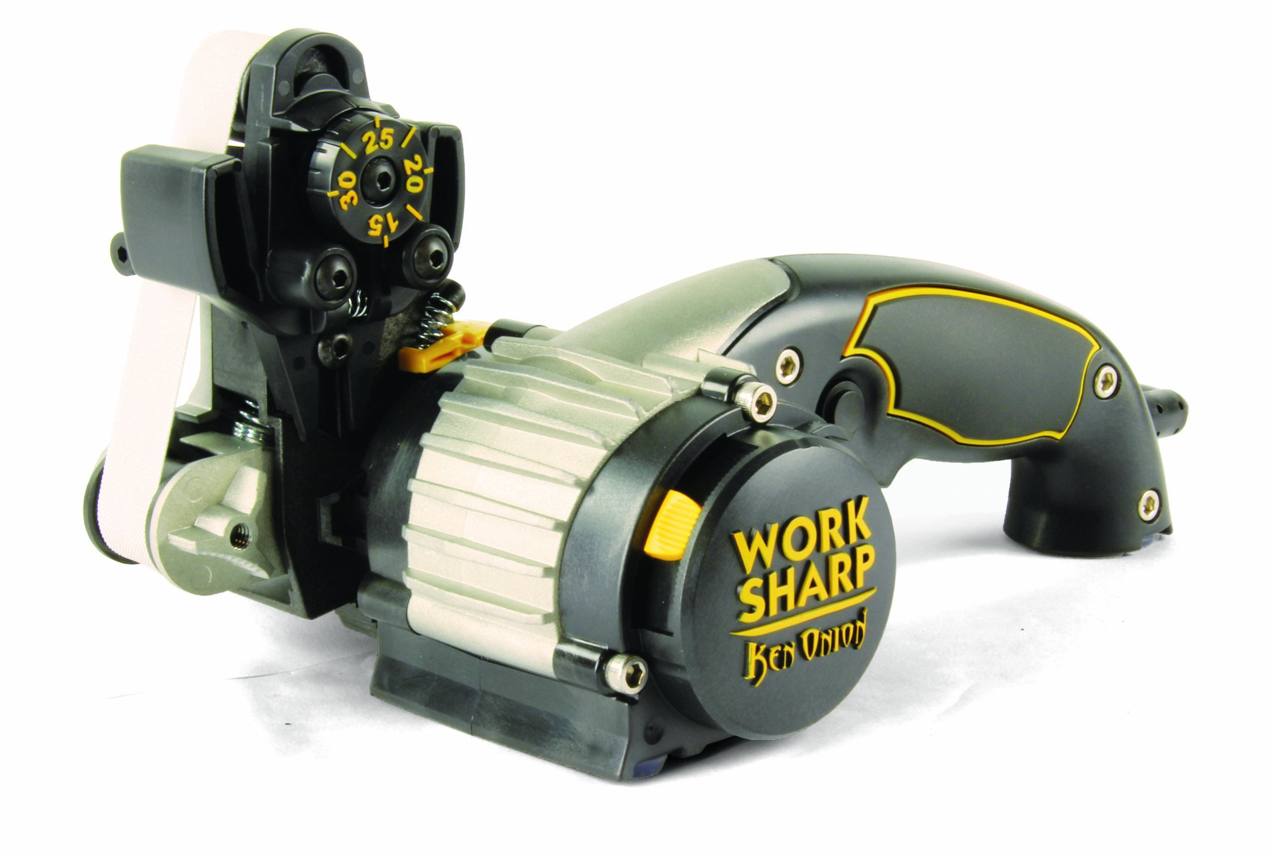 Work Sharp Ken Onion Edition, Fast, Repeatable, & Precision Sharpening from 15° to 30°, Premium Flexible Abrasive Belts, Variable Speed Motor, & Multi-Positioning Sharpening Module by Work Sharp (Image #3)