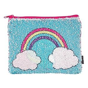 Style.Lab Unicorn/Rainbow Magic Sequin Reveal Pouch