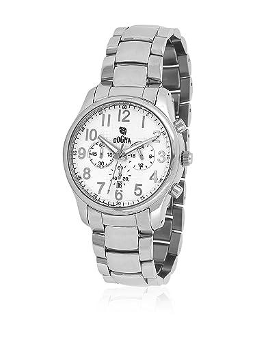 DOGMA Reloj con Movimiento Cuarzo Suizo DGCRONO-321 38 mm: Amazon.es: Relojes