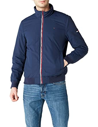 21416aad339746 Tommy Hilfiger Men s Padded Bomber Jacket Transitional  Amazon.co.uk ...