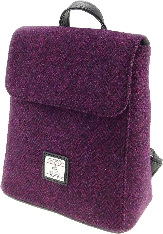 Ladies Genuine Harris Tweed Fashionable Mini Backpack Bag LB1213 COL 52