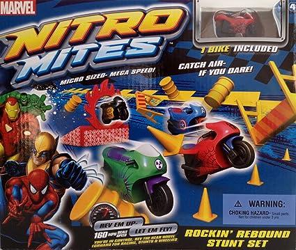 Amazon.com: Nitro ácaros Marvel Rockin 'rebote Playset ...