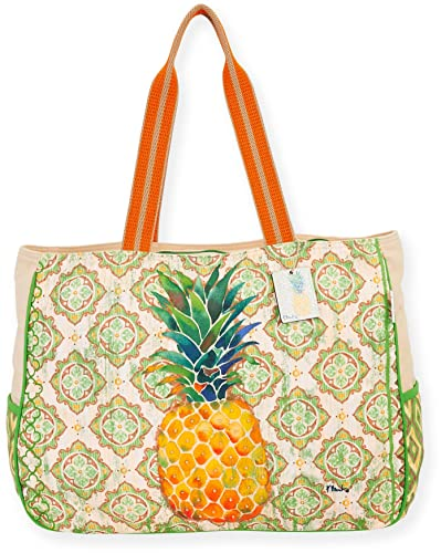 47e77680a0a7 Paul Brent Pineapple Beach Bag Tote One Size Multi