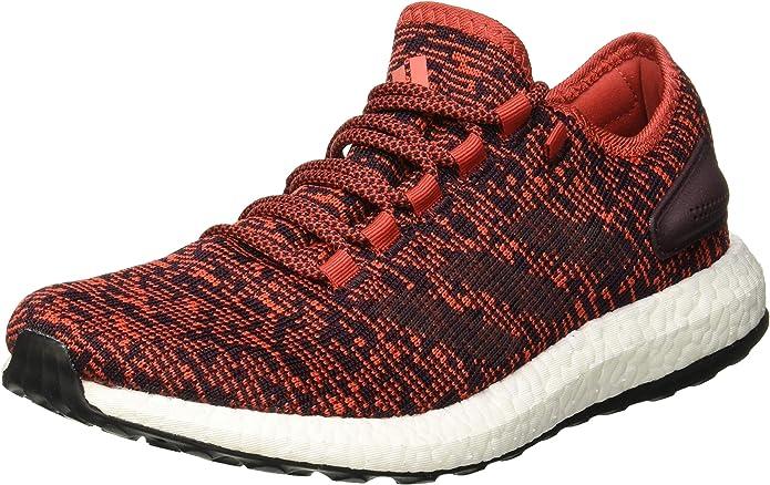 adidas Pureboost Herren Sneakers Laufschuhe Rot (Rojtac/Borosc/Negbas)