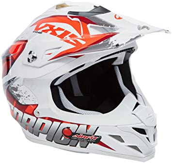 Scorpion Casco Moto VX-15 EVO AIR Defender, multicolor, talla XL