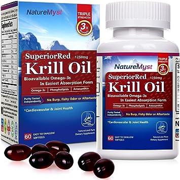 Amazon.com: Grado profesional Aceite de Krill, 0.044 oz, 60 ...