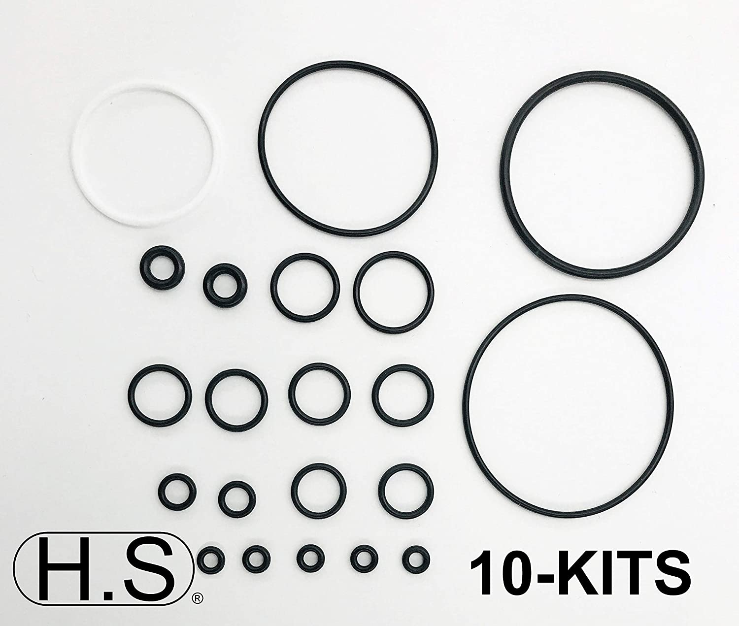 1 MTC Fits Graco Fusion AP Air Purge 246355 H.S O Ring Rebuild Kit fits 246355 Graco Fusion AP Air Purge O-Ring