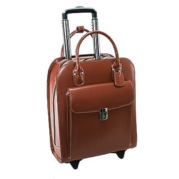 McKleinUSA 97694 Piel Vertical con Ruedas Ladies maletín para Ordenador portátil (15,4