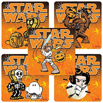 Amazon.com: star wars: Halloween pegatinas – premios y ...