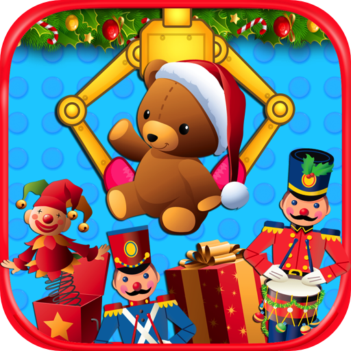 Crane Com Holiday - Christmas Prize Claw - Kids Toy & Candy Crane Games FREE