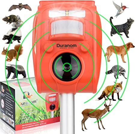 Ultrasonic Animal Repellet  Set of 2  transparent colour