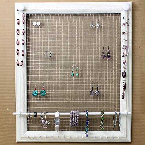 Amazoncom Jewelry Organizer Display Rack Holder Picture Frame 20