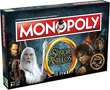Oferta amazon: Eleven Force Monopoly El Señor De Los Anillos (63300), Multicolor, Ninguna