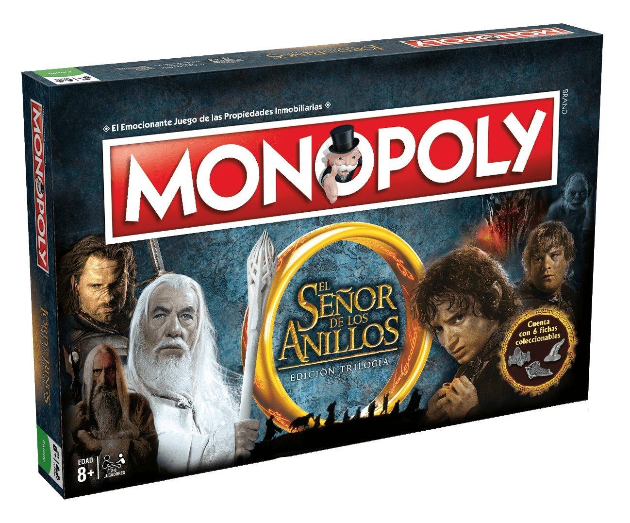 Comprar Eleven Force Monopoly El Señor De Los Anillos (63300), Multicolor, Ninguna