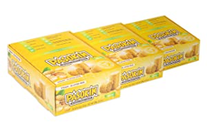 PASOKIN | Original Peanut Butter Snack | Gluten Free, Vegan, All Natural, Made in USA, 0.5 oz bites [24 count, 3 boxes]