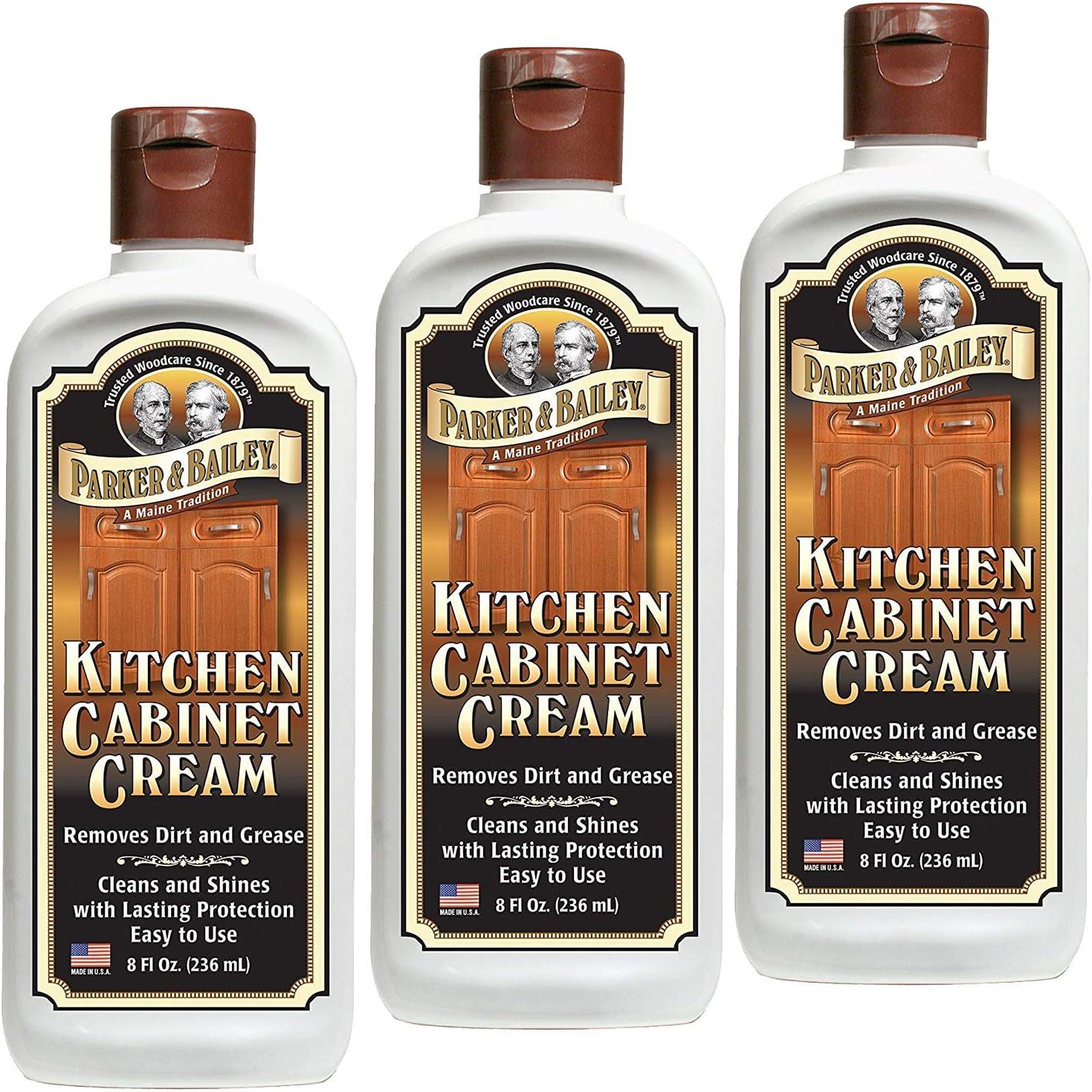 Parker Bailey Kitchen Cabinet Cream 8oz 8 Ounces White ...