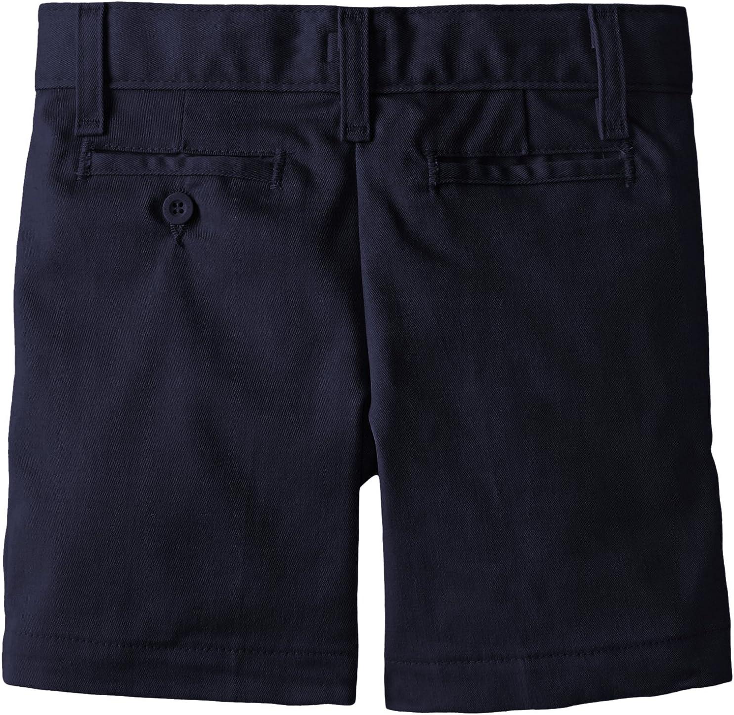 Dickies Khaki Boys Flex Waist Stretch Flat Front Short