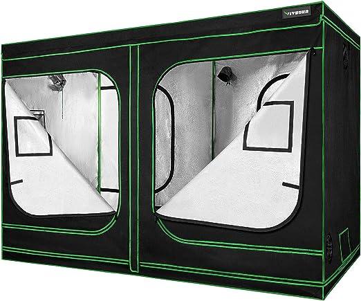 VIVOSUN Mylar Hydroponic Grow Tent - Best For Design