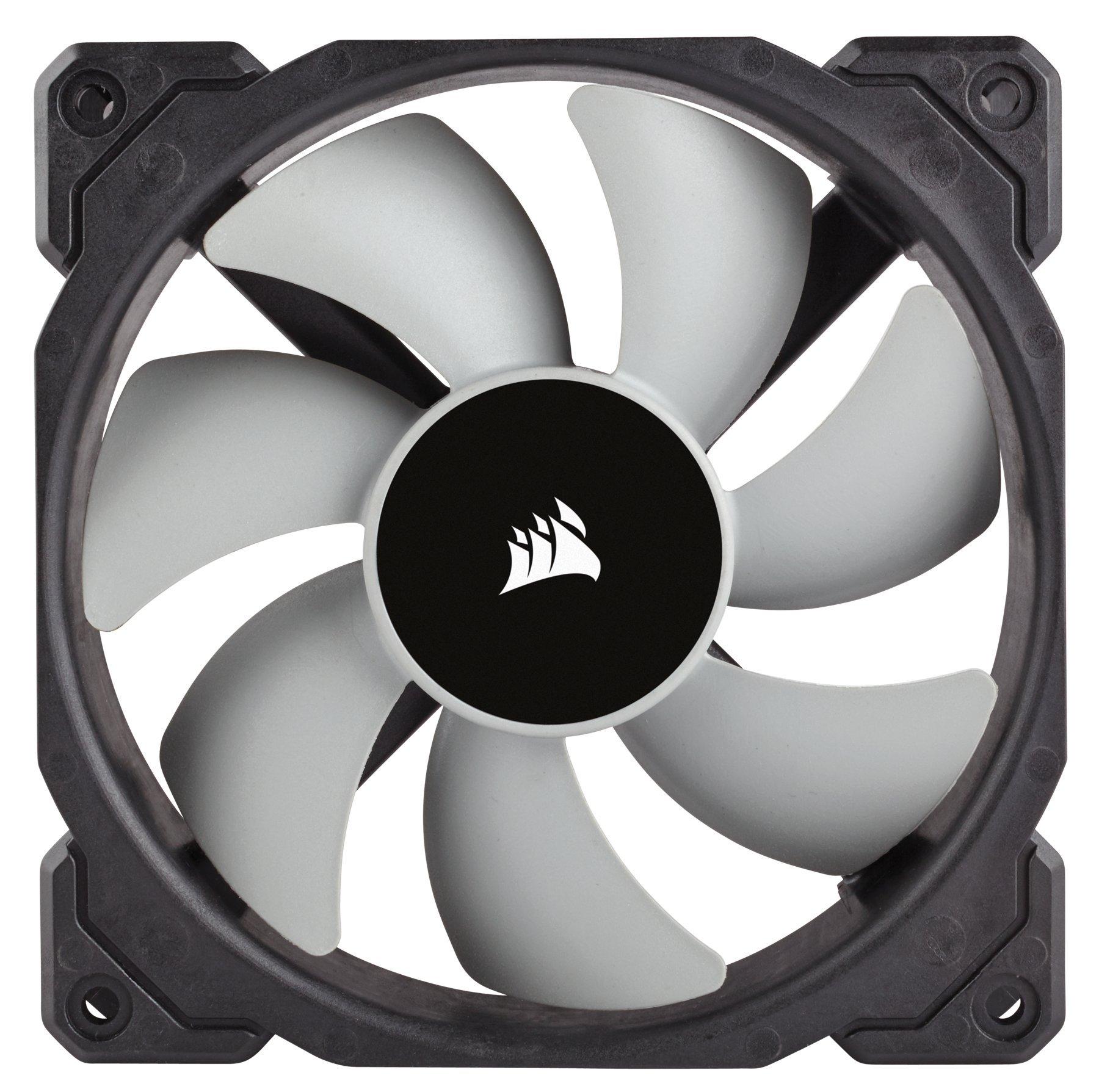 CORSAIR HYDRO Series H100i PRO RGB AIO Liquid CPU Cooler, 240mm, Dual ML120 PWM Fans, Intel 115x/2066, AMD AM4 by Corsair (Image #11)