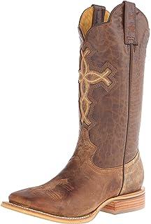 1ba127be8ef Amazon.com | Tin Haul Shoes Men's Open Roper Western Boot | Western