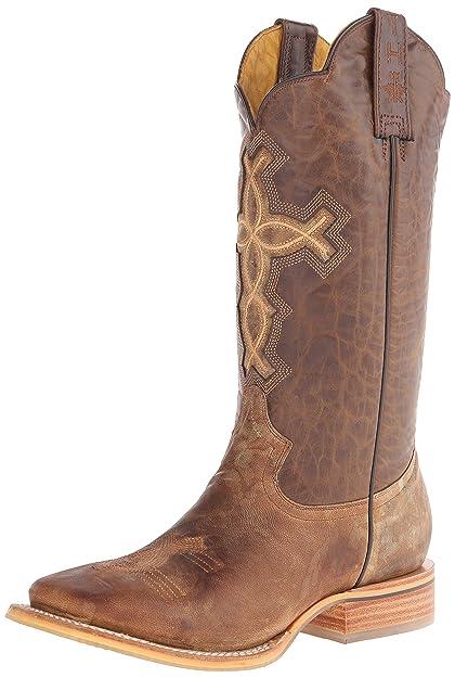 7ca84e39378 Tin Haul Shoes Men's Ichthys Aroundus Western Boot