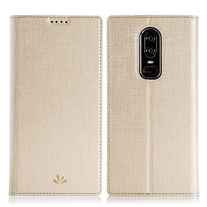 Amazon.com: feitenn OnePlus 5T Premium – Funda de piel con ...