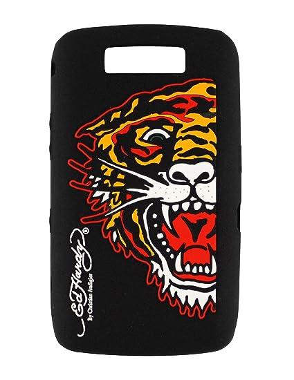 95884a33db30 Amazon.com  Ed Hardy Silicone Tiger Skin for BlackBerry 9550 - Black ...