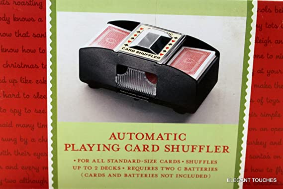 Two Deck Automatic Card Shuffler