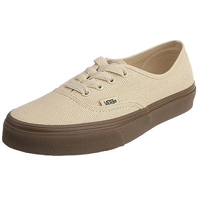8959a81c02 Vans Unisex Authentic (hemp) birch VJRA0U4 9.5 UK  Amazon.co.uk  Shoes    Bags