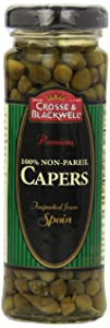 Crosse & Blackwell Premium 100% Non-Pareil Capers, 3.5 ounces
