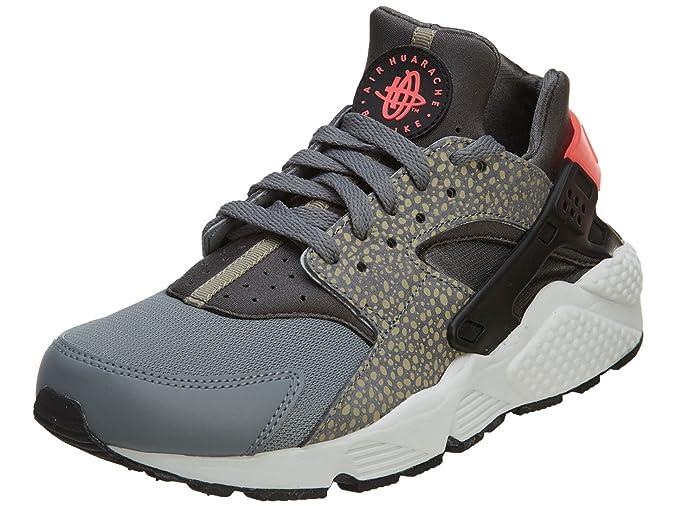 wholesale dealer 55b2a e2440 Nike Mens Air Huarache Bamboo Safari Cool Grey Hyperpunch Trainer Size 7  UK  Amazon.co.uk  Shoes   Bags