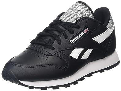 Reebok Classic Lthr Pop Black AR0300 Mens shoes size: 13 US