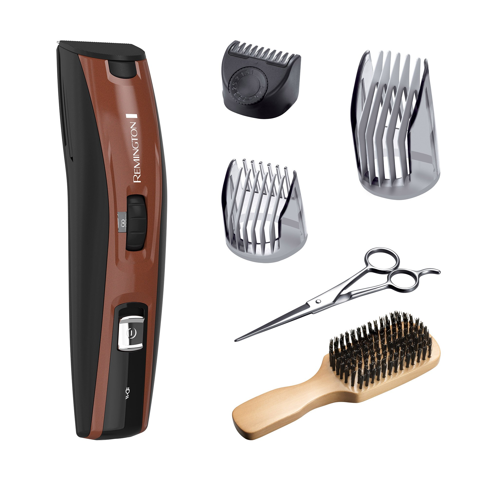 Remington MB4045A The Beardsman Beard Boss Full Beard Kit with Titanium-Coated Blades, Copper by Remington
