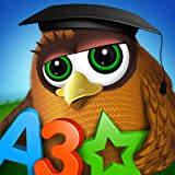 Preschool and Kindergarten learning kids games for girls & boys ∙ Learn to read interactive ABC, alphabet tracing, phonics song with educational app based on Montessori match letter quiz & logical math puzzle games for toddler free by Kids Academy