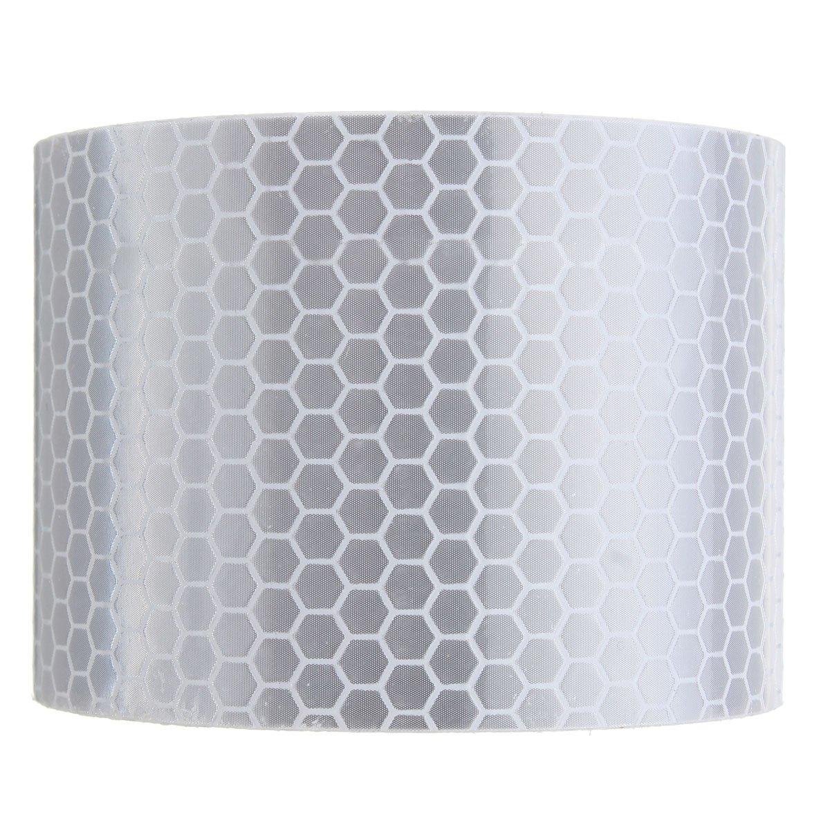 KING DO WAY Cinta Reflectante de Seguridad con Relieve de Panal de Abeja (Adhesiva, 5 cm × 3 m): Amazon.es: Coche y moto