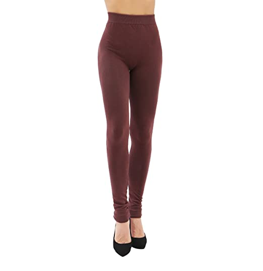 fab46441554 Image Unavailable. Image not available for. Color: Ruxia Women's High  Waisted Plus Size Leggings Seamless Basic Stretch ...
