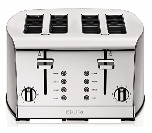 KRUPS KH734D Breakfast Set 4-Slot Toaster Review