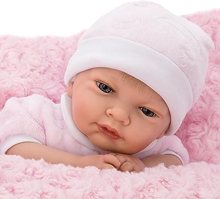 💗 Bebe Reborn (SIMULACION). Muñecas bebes para niñas, de cuerpo blando, con ojos abiertos que se ca