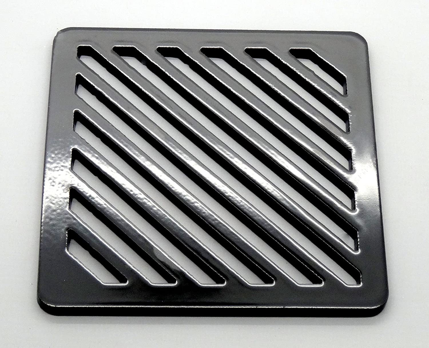 4' inch Square solid metal steel Gully Grid Heavy Duty Drain Cover grate like cast iron, stronger Lakeland Steel Ltd
