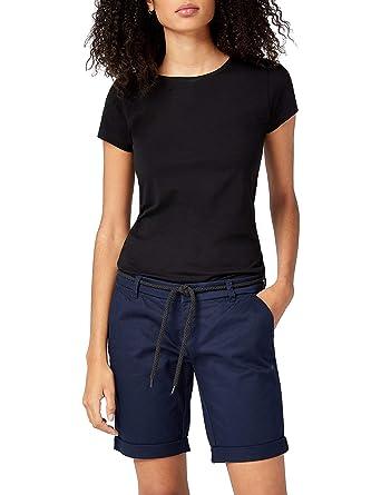 49354ab020 ONLY NOS Onlparis L Long Chi Belt Shorts PNT Noos Femme: Amazon.fr ...