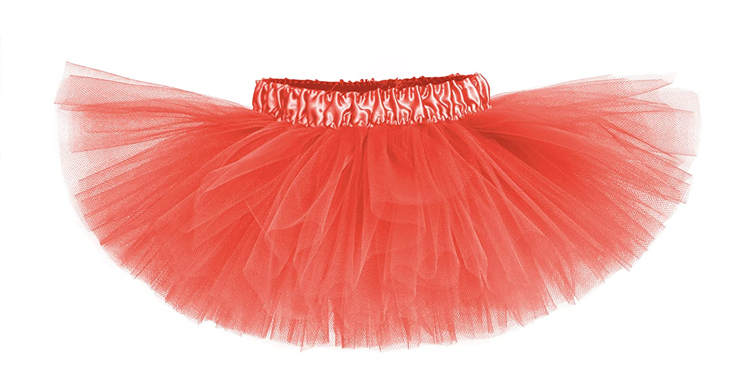 Sunkissed Coral Classic Baby Girls Tutu