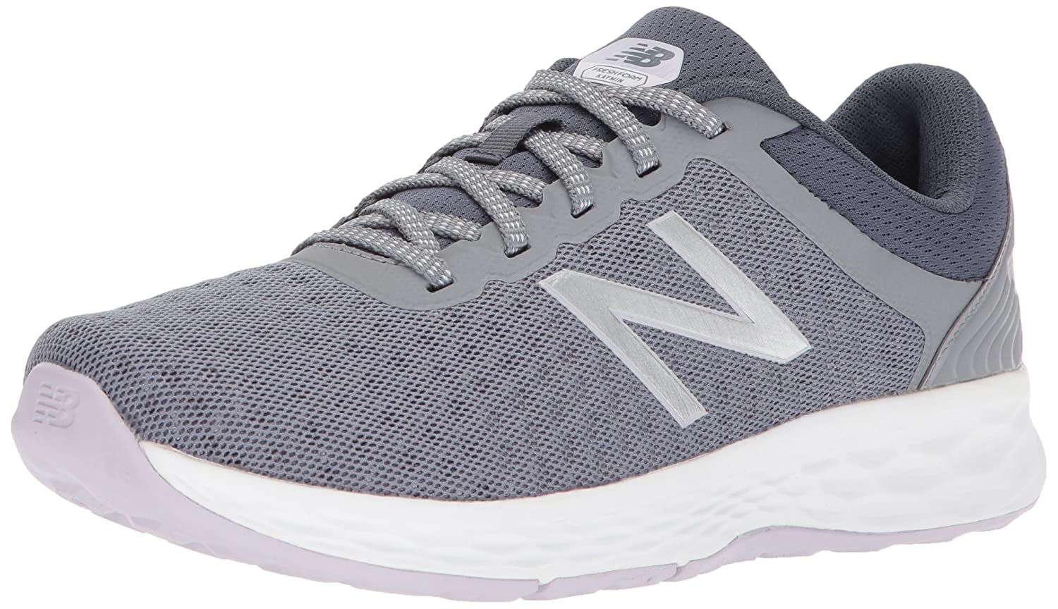 New Balance Women's Fresh Foam Kaymin v1 Running Shoe B06XS68KDG 55 D US|Gunmetal/Thunder