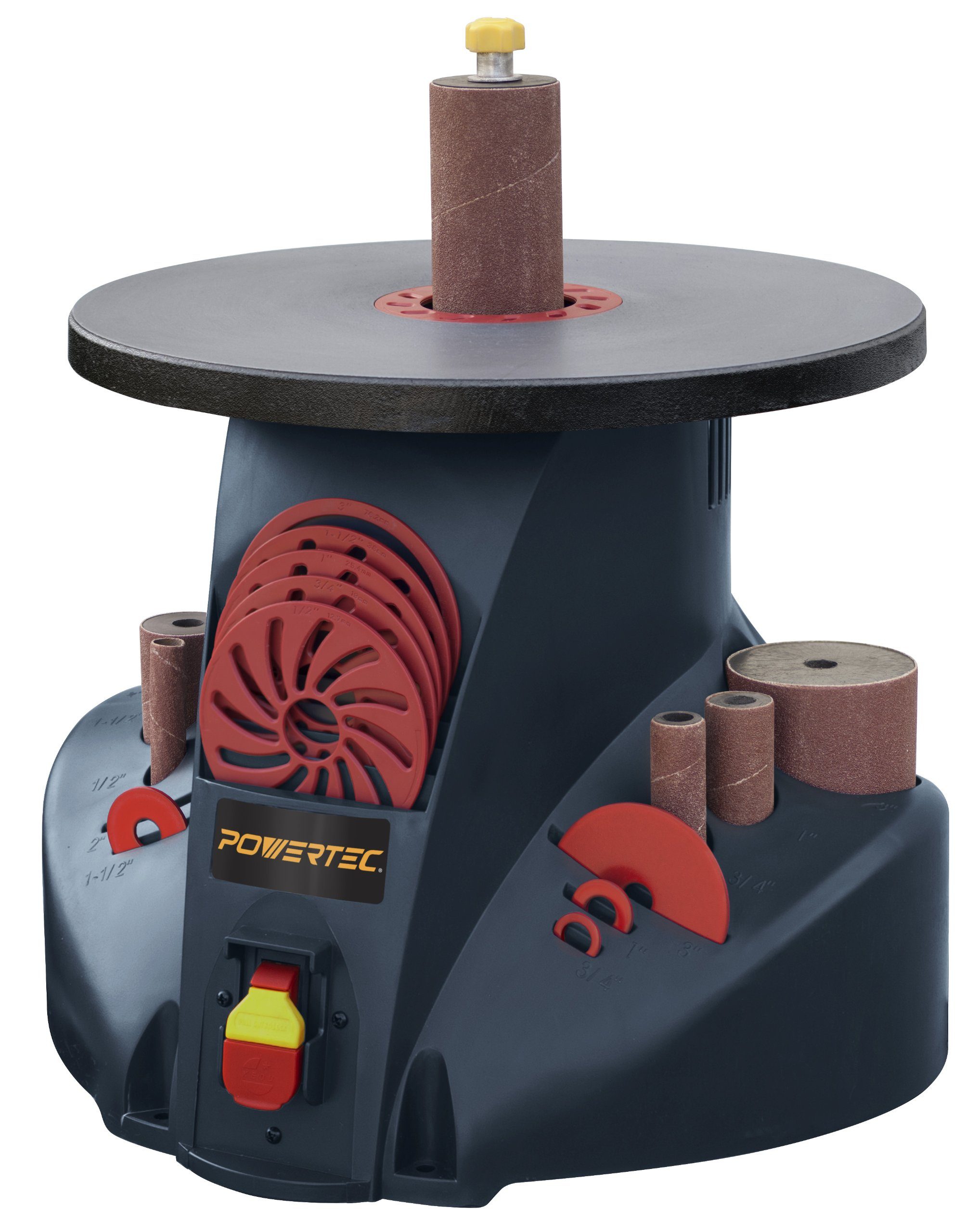 POWERTEC OS1400 2.6 Amp Benchtop Oscillating Spindle Sander by POWERTEC