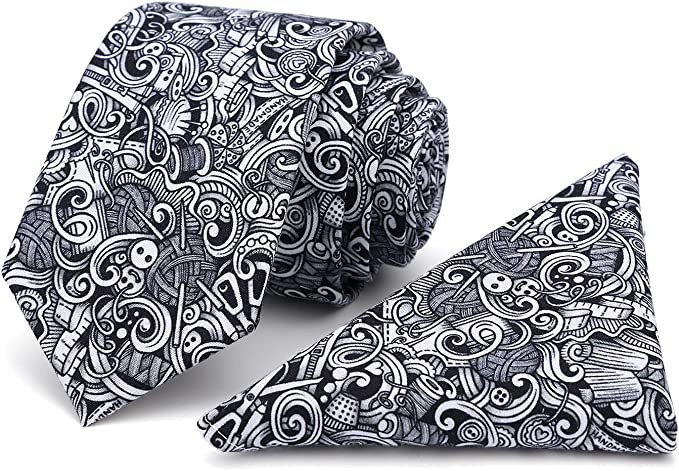 Kingdom Secret Mens Skinny Floral Tie Cotton Necktie Great for Wedding Groom Groomsmen Missions Dances Gift