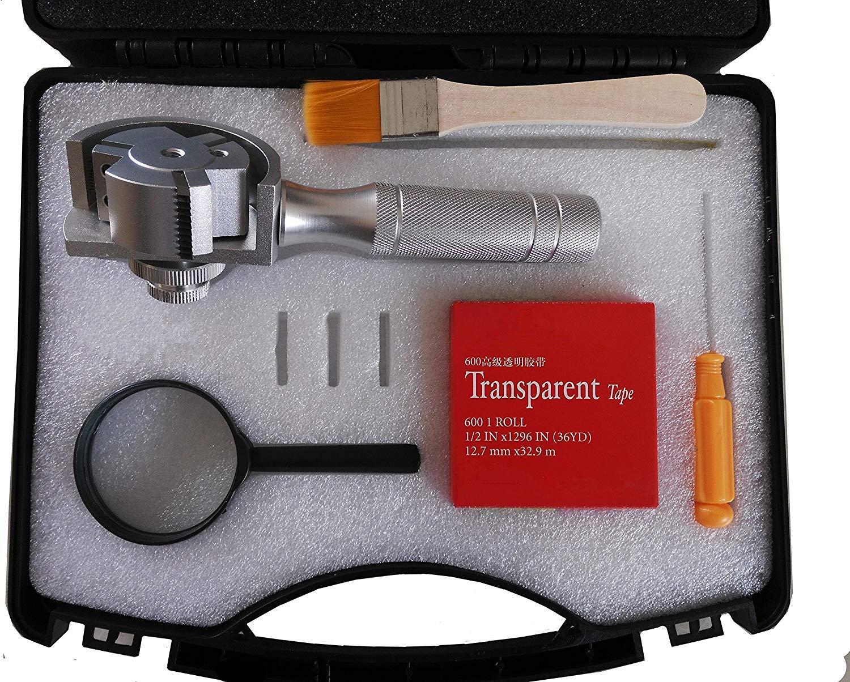 mango de metal Kit de comprobador de adherencia 3 en 1 giratorio de cruz con cuchillas de 1//mm//2 mm//3 mm