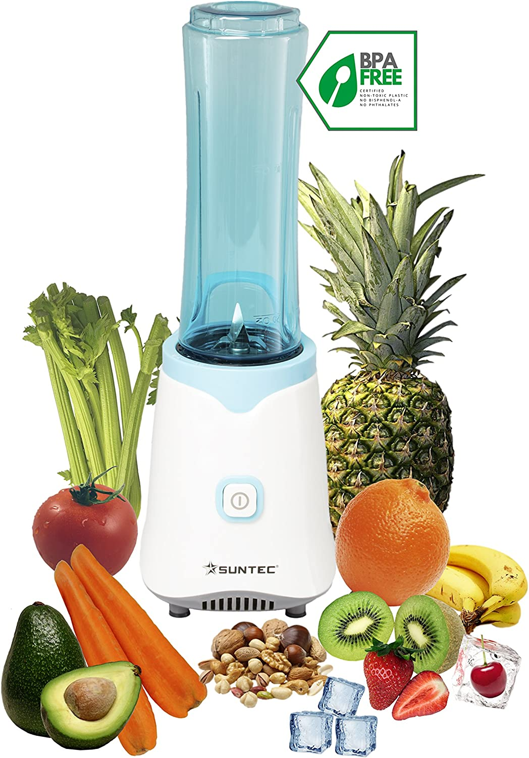 Suntec Wellness SMO-9943 Smoothie Maker, 150 W, turquesa: Amazon.es: Hogar