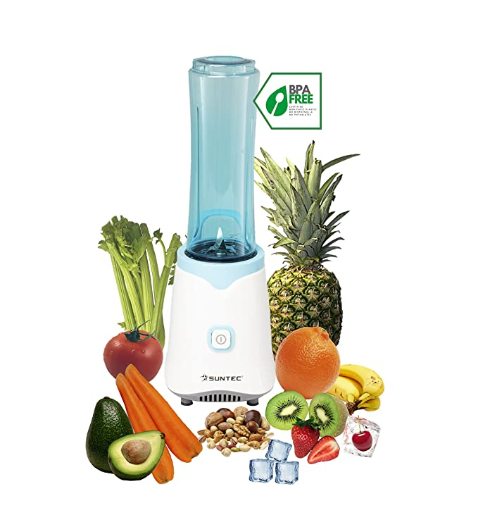 Suntec Wellness SMO-9943 Smoothie Maker, 150 W, turquesa