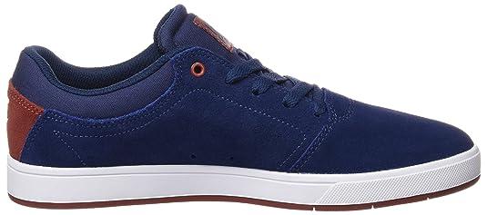 DC Shoes Crisis M Zapatillas de Skateboarding, Hombre, Azul (Insignia Blue), 42